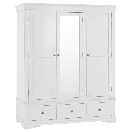 Swannage 3 Door 2 Drawer Wardrobe